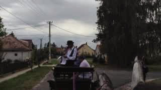 Szüreti felvonulás Jákó 2013.09.21. - Kisbiró 1. visszaérkezik a menet a faluház udvarára