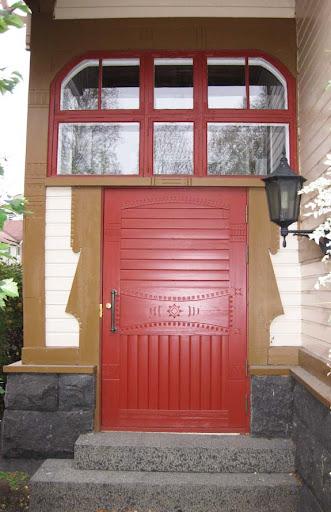 Voordeur villa Lars Sonck