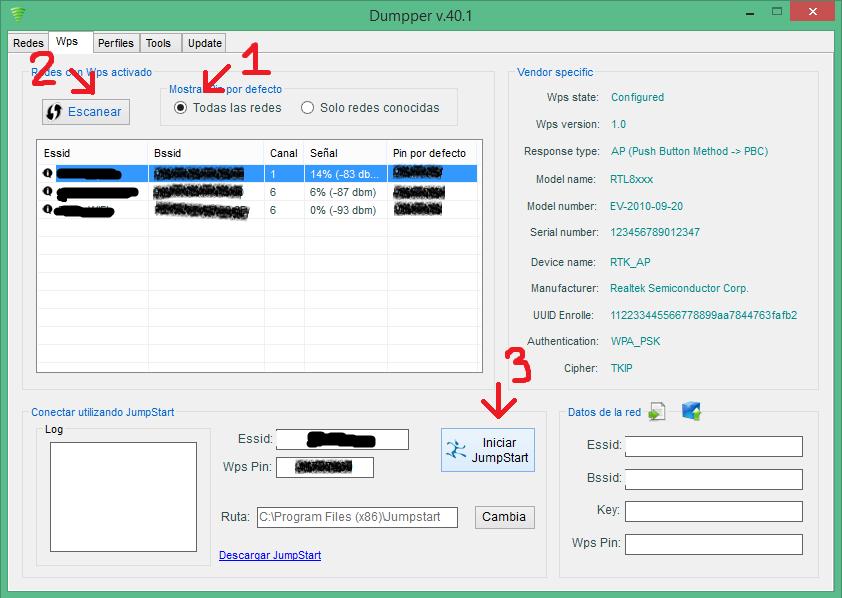Hướng dẫn hack pass wifi dể dàng với JumpStart + Dumpper