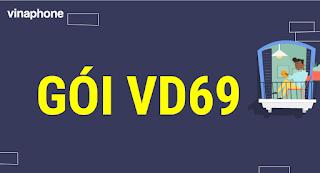 Miễn phí gọi Nội mạng, 2.4 GB tốc độ cao, 30 Phút Ngoại mạng gói VD69