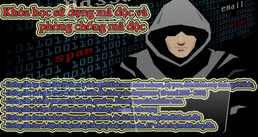 Khóa học Hacker cách Hacker kiếm tiền