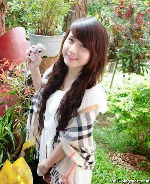 Ảnh Girl Xinh 9x Cực Cute, Có Nét Đẹp Baby - hình 2