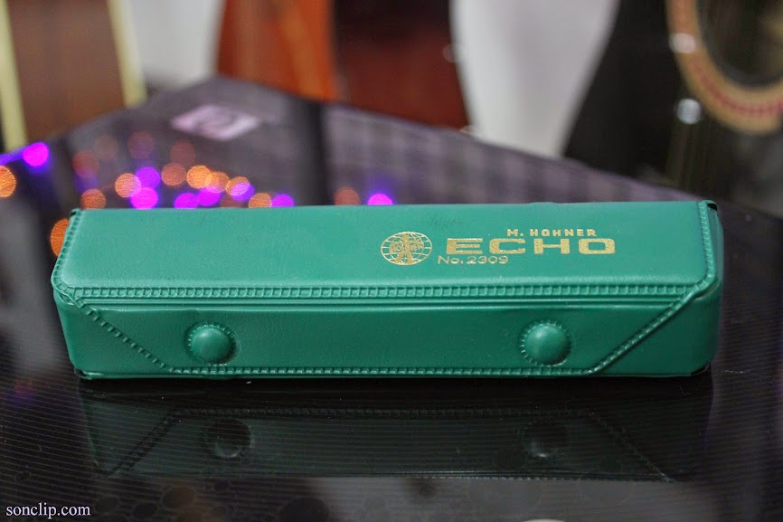 Kèn Harmonica - Hohner Echo 32 Tremolo (key C)