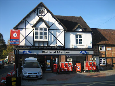 Our Petrol Forecourt, at Quoiting Square, on the corner of West St & Oford Rd, Marlow