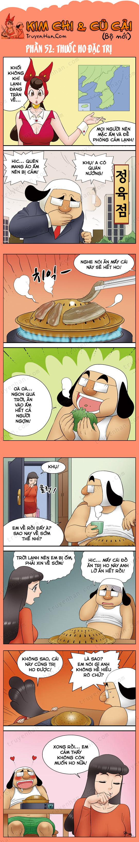 Kim Chi & Củ Cải (bộ mới) phần 52: Thuốc ho đặc trị