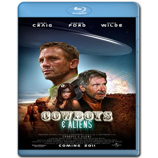 Cowboys & Aliens - BRRip 720p - Español Latino