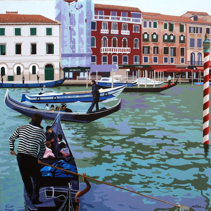 Obra de Rosana Sitcha que puede verse en Art Hotel