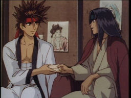 I think Katsu would be okay taking over for Kenshin's sudden lack in the bromance...