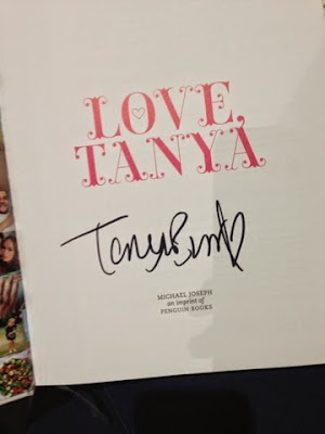 Tanya Burr's book signing