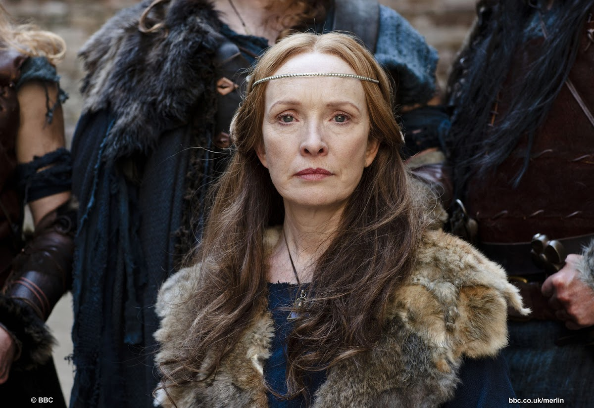 Lindsay Duncan is Queen Annis in BBC Merlin His Father's Son