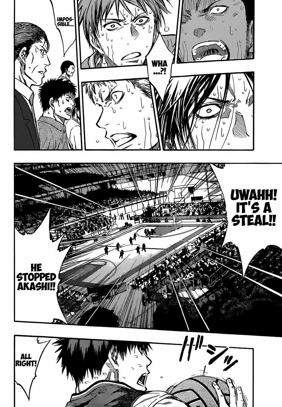 Kuroko no Basket Manga Chapter 263 - Image 18