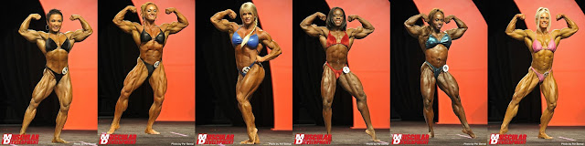 Ms. Olympia 2011 third callout