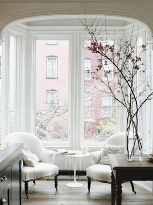 jenna lyons home brooklyn townhouse interior design home decor reading nook