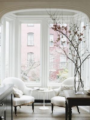 jenna lyons home brooklyn townhouse interior design home decor reading nook