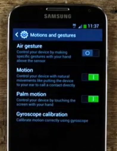 How to set up Quick Glance on the Samsung Galaxy S4