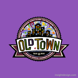 Old Town logo design Wichita, KS