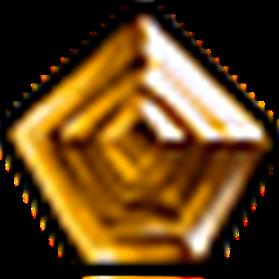無瑕星芒黃寶石