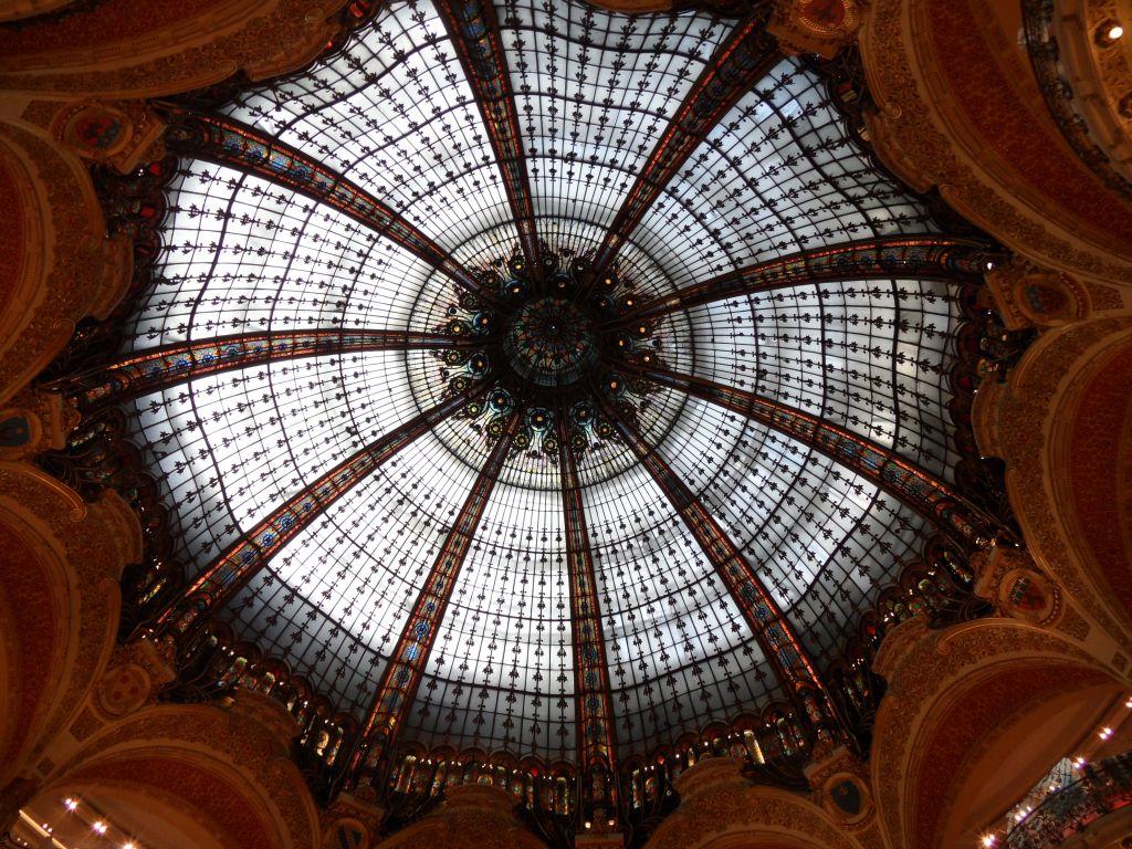 Galeries Lafayette kubbesi