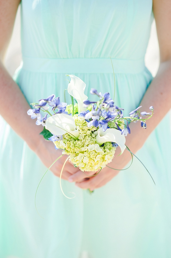 Navy Blue And Mint Green Beach Wedding Tidewater And