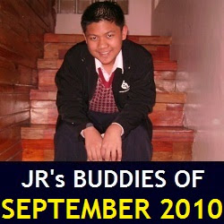 JR's Buddies of September 2010