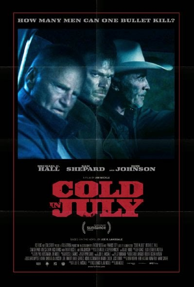 Poster Of English Movie Cold in July (2014) Free Download Full New Hollywood Movie Watch Online At Alldownloads4u.Com