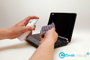 Cách vệ sinh laptop đúng cách