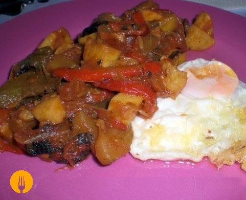 pisto manchego receta tradicional casera
