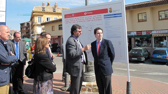 Comienza la reforma de siete calles del casco urbano de El Molar