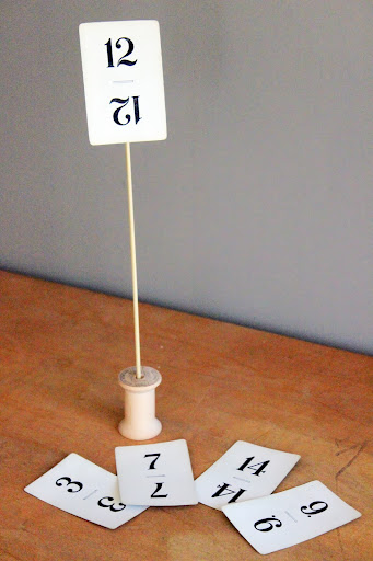 Vintage Flinch cards from the rental inventory of www.momentarilyyours.com, $1.00 each.
