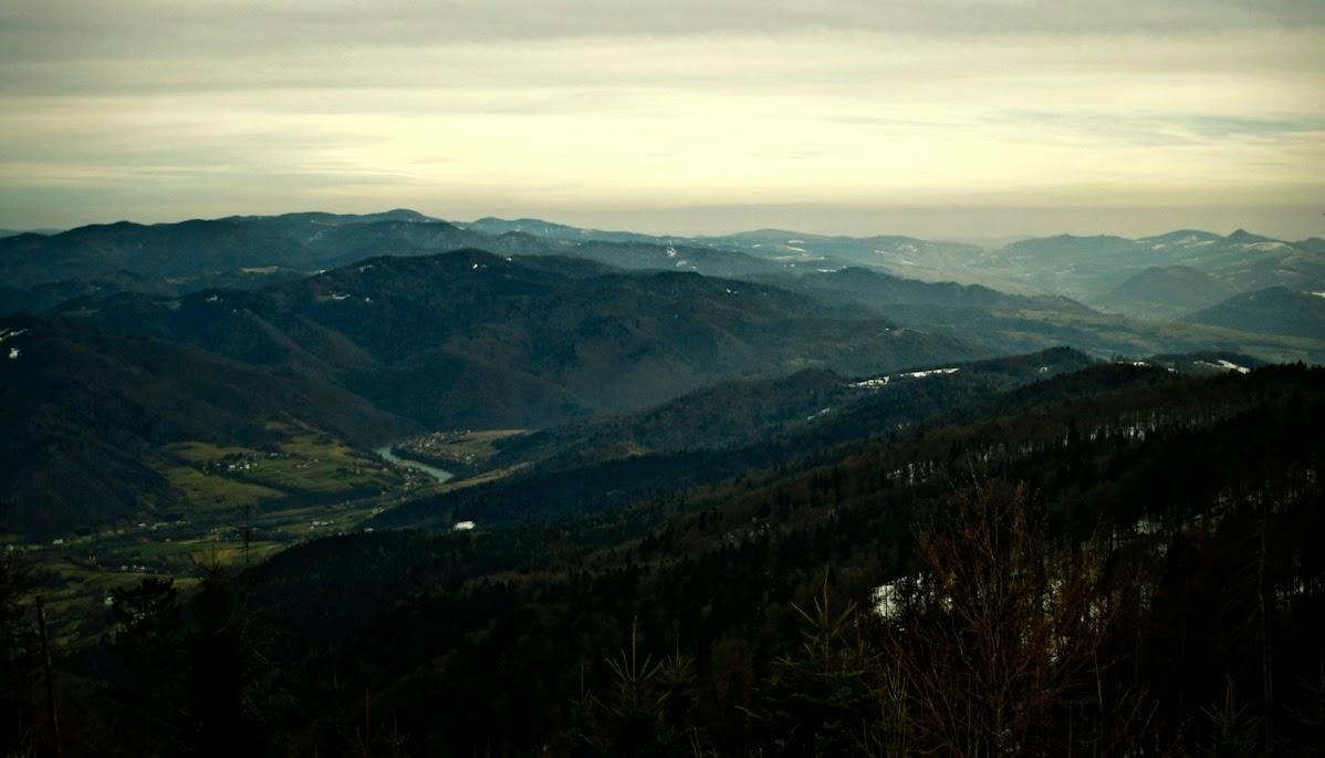 Szlak na Lubań z Tylmanowej