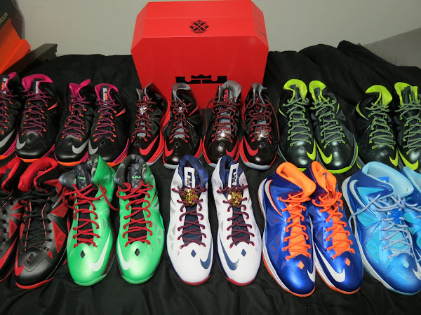Fan Zone Nike LeBron X Collection by JR LYON