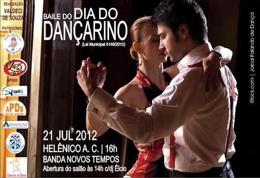 O Baile do Dançarino marcou o encerramento do Ano do Bicentenário do Ensino de Dança de Salão no Brasil. Foi também palco do lançamento da campanha UMA ESTÁTUA PARA ANTONIETTA e da tarde de autógrafos dos livros 2 e 3 da coletânea