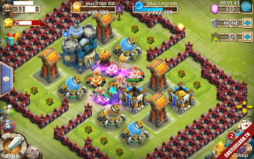 Account Castle Clash Have Pumpkin And Cupid Hight level