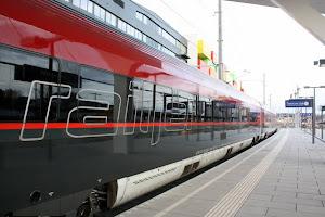 Train in Salzburg Austria