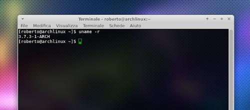 kernel 3.7 su arch linux
