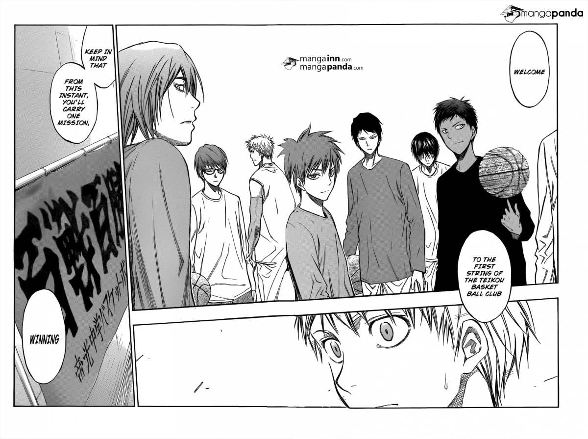 Kuroko no Basket Manga Chapter 207 - Image 012-012