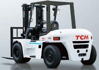 Xe nâng diesel 6 - 10 tấn TCM Nhật Bản
