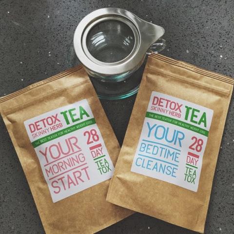 skinny herb detox tea reviews