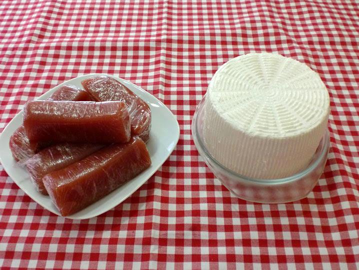 El Racó del Berguedà: Codonyat i formatge fresc