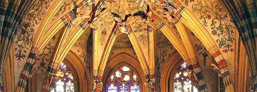 Bruselas Valonia: interior iglesia Lieja
