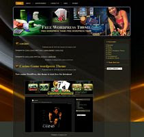 Casino Game wordpress Theme