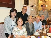2014年11月29日與梁崇榆老師在跑馬地祥興茶餐廳茶聚