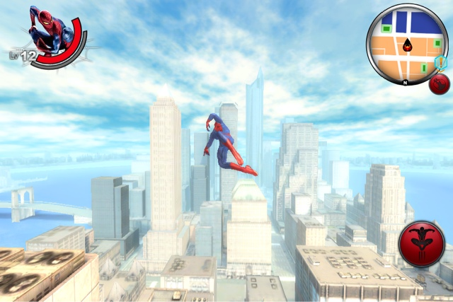 The Amazing Spider-Man AR Screenshot (iPhone 4S)
