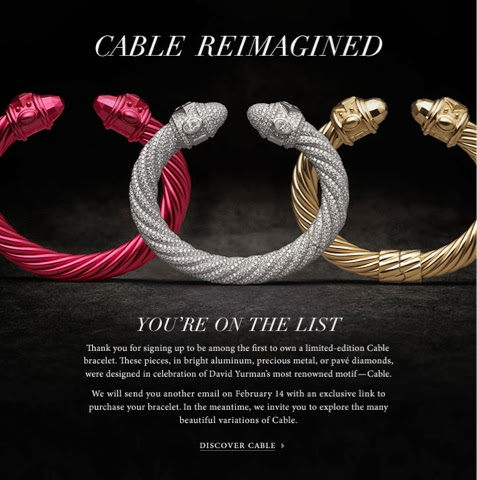 I Was So Hy Waited Patiently For February 14 And Then The Day Came Decision Time Which Bracelet To Get Limited Edition Cable Comes