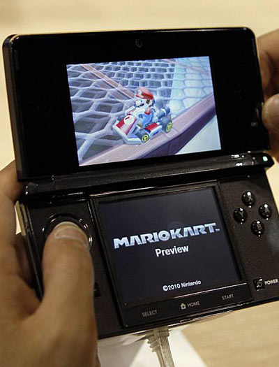Probando la consola portátil Nintendo 3DS