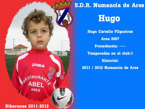 A. D. R. Numancia de Ares. Biberones 2011-2012. Hugo