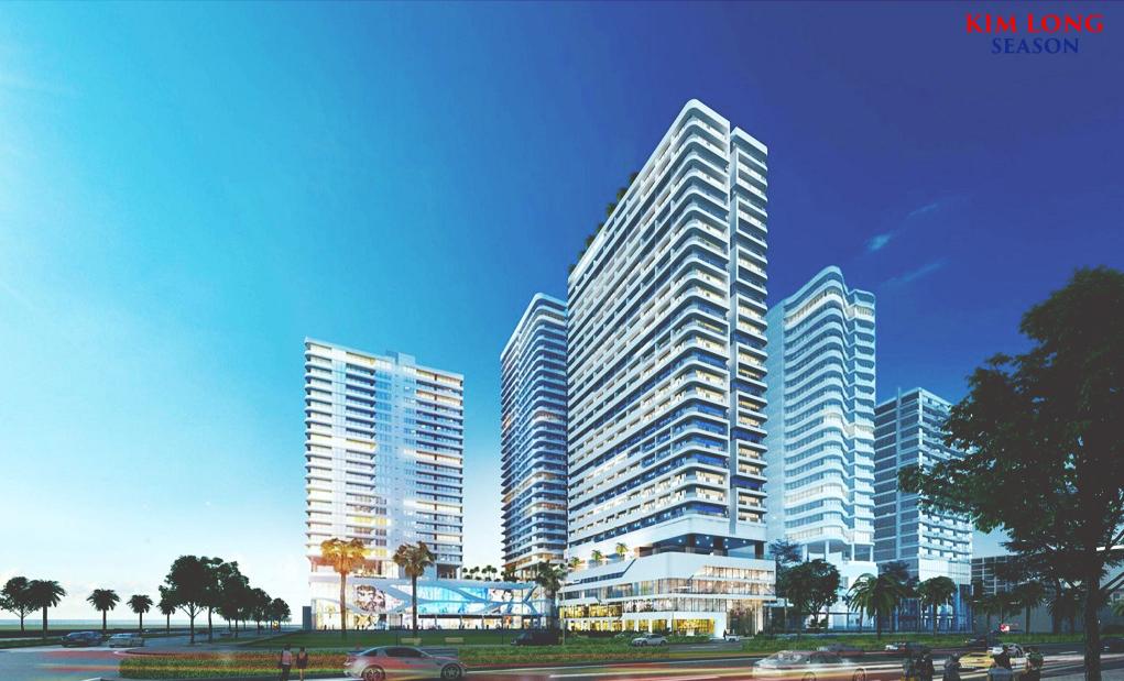Phối cảnh tổng thể của dự án Kim Long Season Đà Nẵng