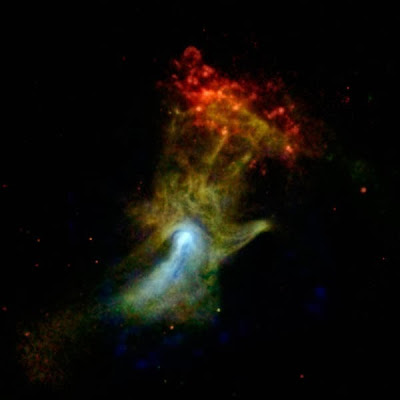 NASA reveals 'Hand of God' in outer space