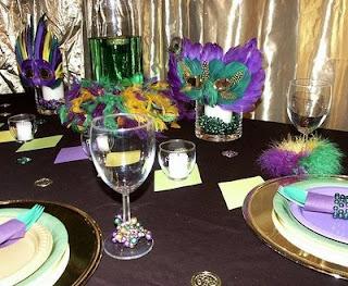 Promofever: Ideias de decoração para festa de carnaval, à mesa