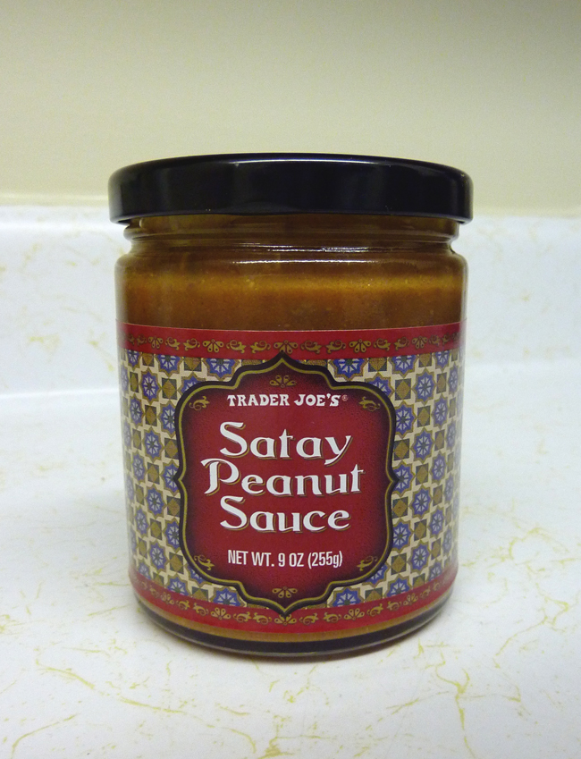 What 39 s good at trader joe 39 s trader joe 39 s chicken satay for Trader joe s fish sauce